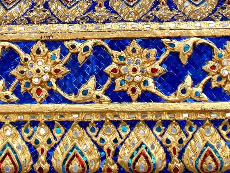 Farverige mosaikker