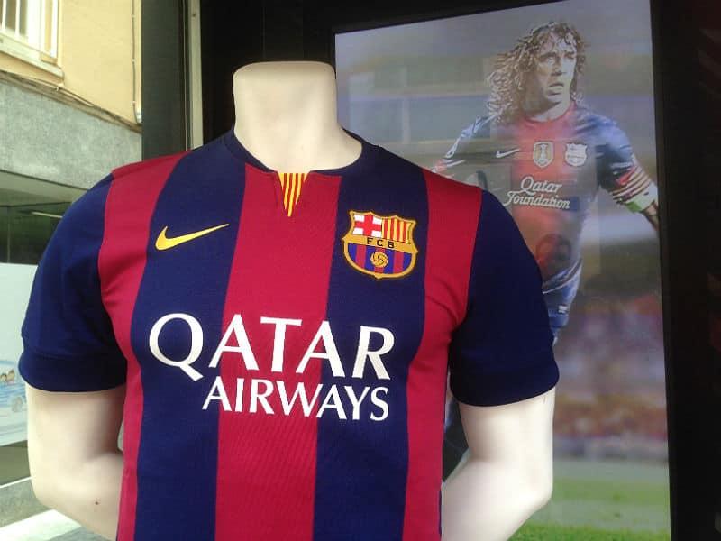 FC Barcelonas hjemmebanetrøje