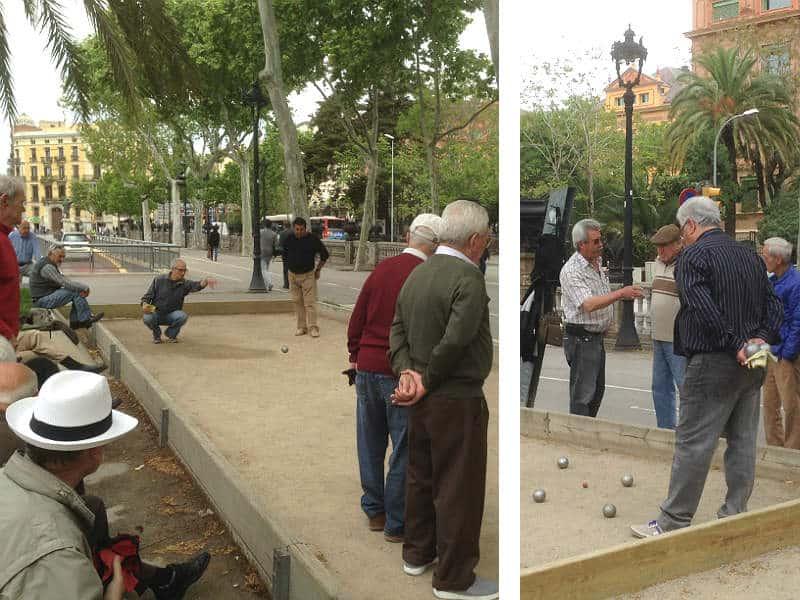 Oplev boules på din rejse til Barcelona