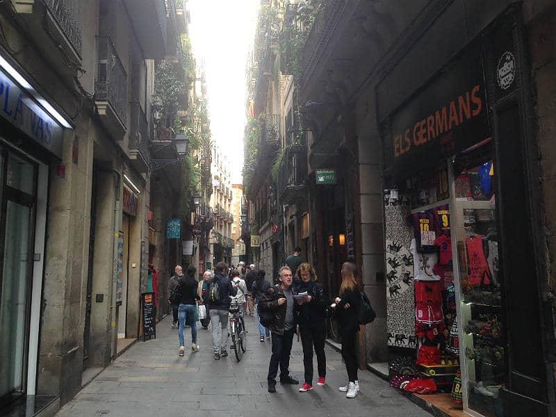 Vejvisning i Barcelonas middelaldergader
