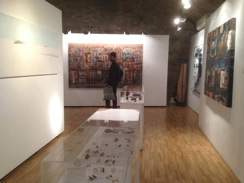 Kenneth og kunst i Barcelona
