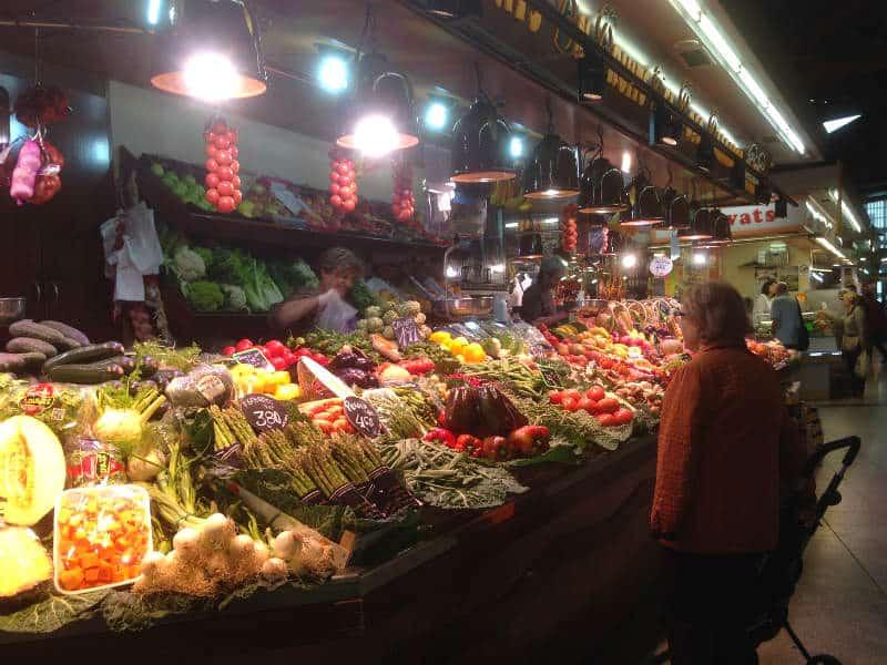 Se Santa Caterina-markedet på din rejse til Barcelona