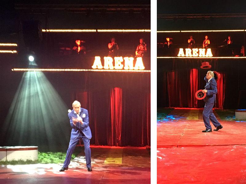 Kris Kremo i Cirkus Arena