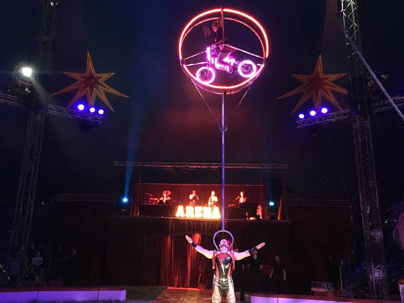 Duo Costache i Cirkus Arena