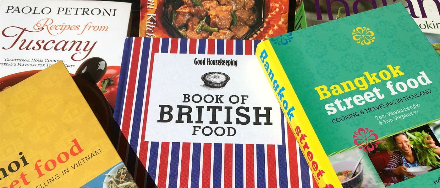 Køb kogebøger med hjem fra dine rejser | Globetrotters.dk