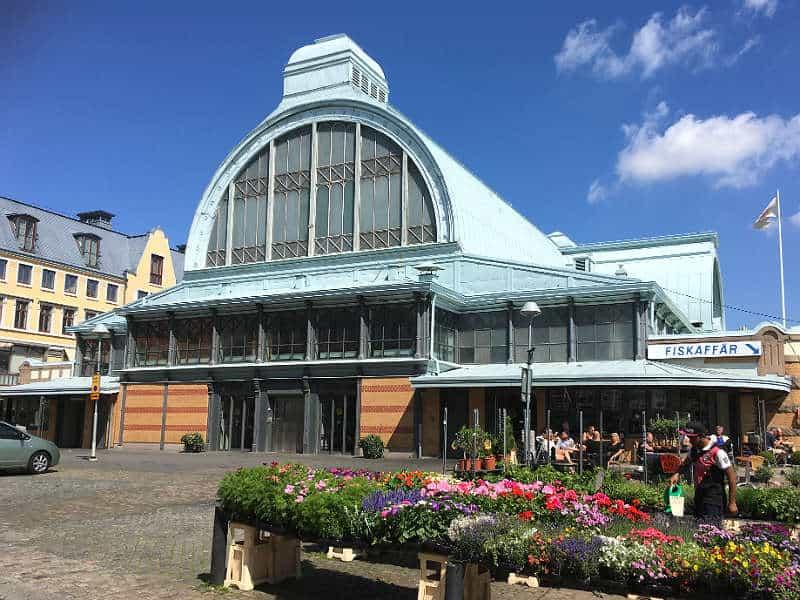 Stora Saluhallen madhallen i Gøteborg