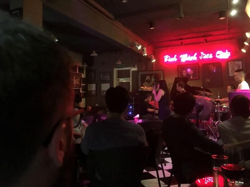 Jazz på Binh Minh i Hanoi