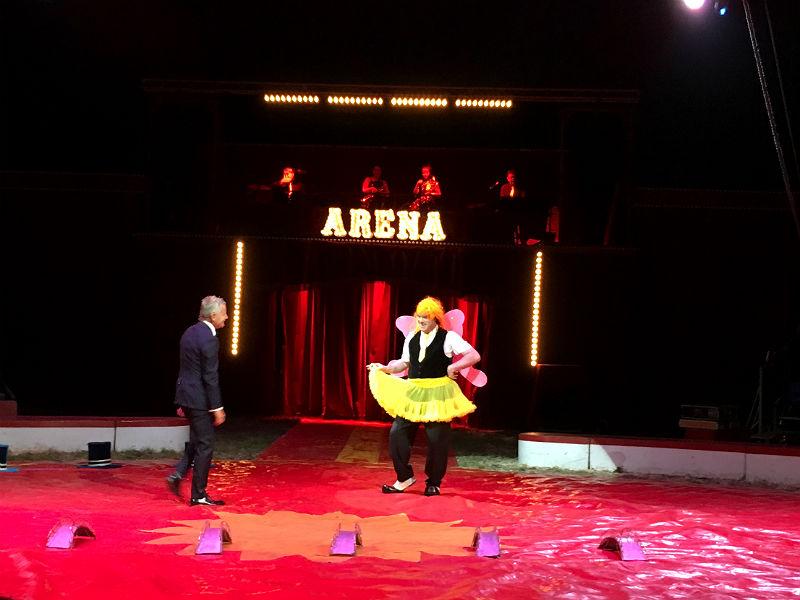 Bubber og Jimmy Folco i Cirkus Arena - Live from Denmark