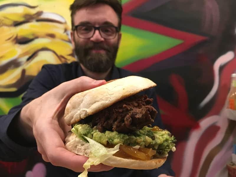 En dejlig veganerburger fra Mooshies