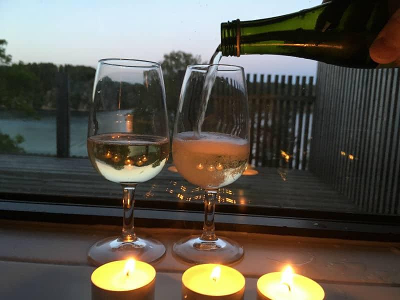 Champagneromantik på Vann Spa - Globetrotters
