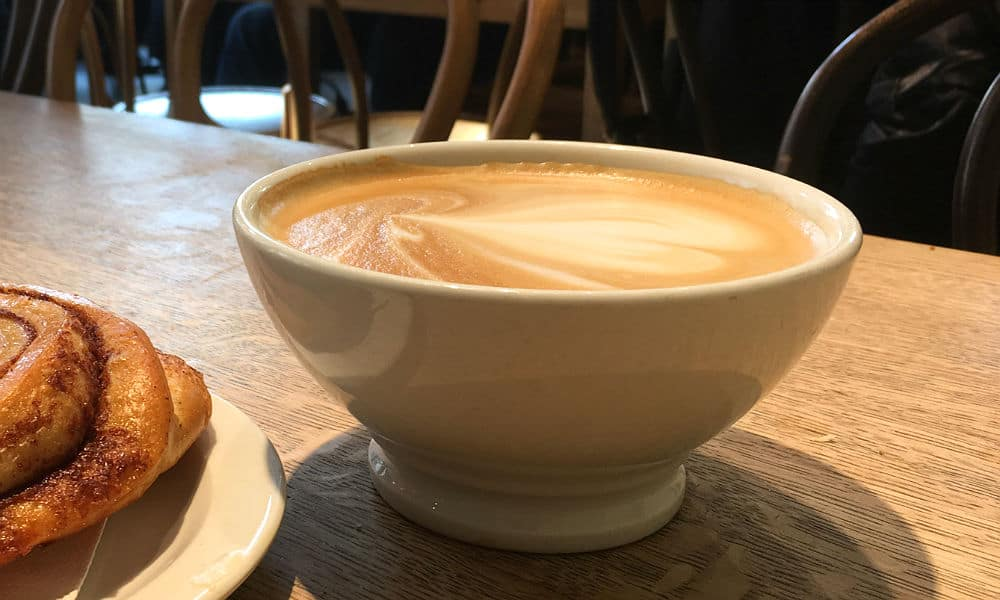 Skønne kaffebarer, caféer og en bar i Oslo