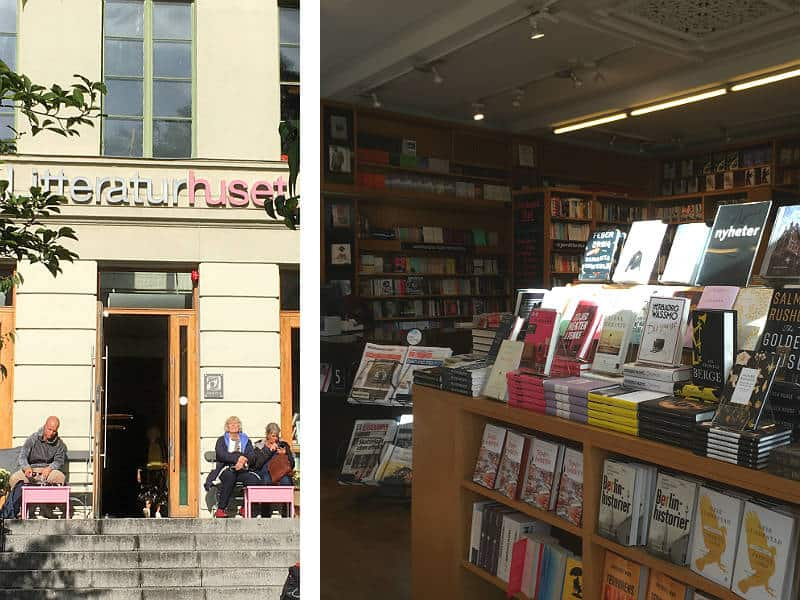 Litteraturhuset i Oslo, en af de gode caféer i Oslo - Globetrotters.dk