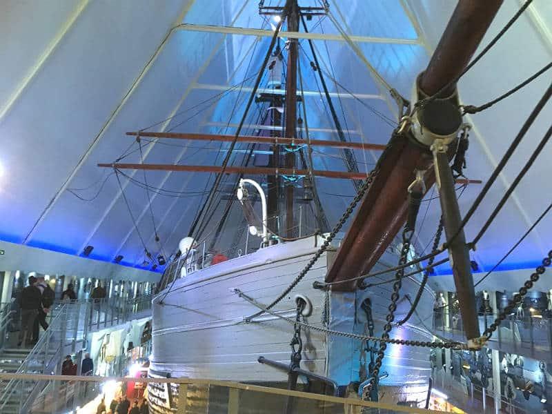 Polarskibet Fram er en stor oplevelse på din rejse til Oslo - Globetrotters.dk