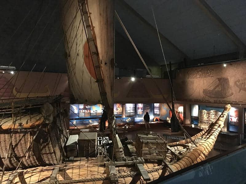 Ra II på Kon Tiki Museet i Oslo - globetrotters.dk