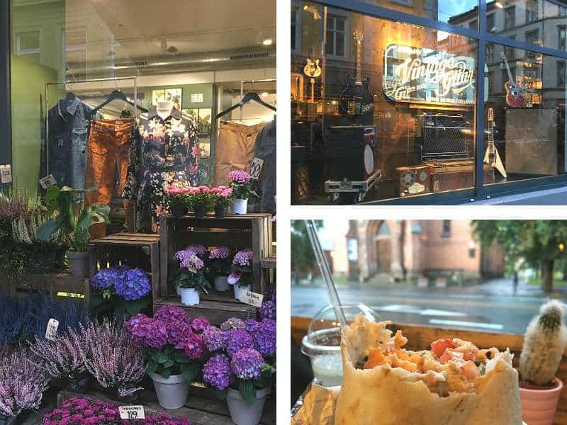 Butikker og mad på Torggata i Oslo - Globetrotters.dk