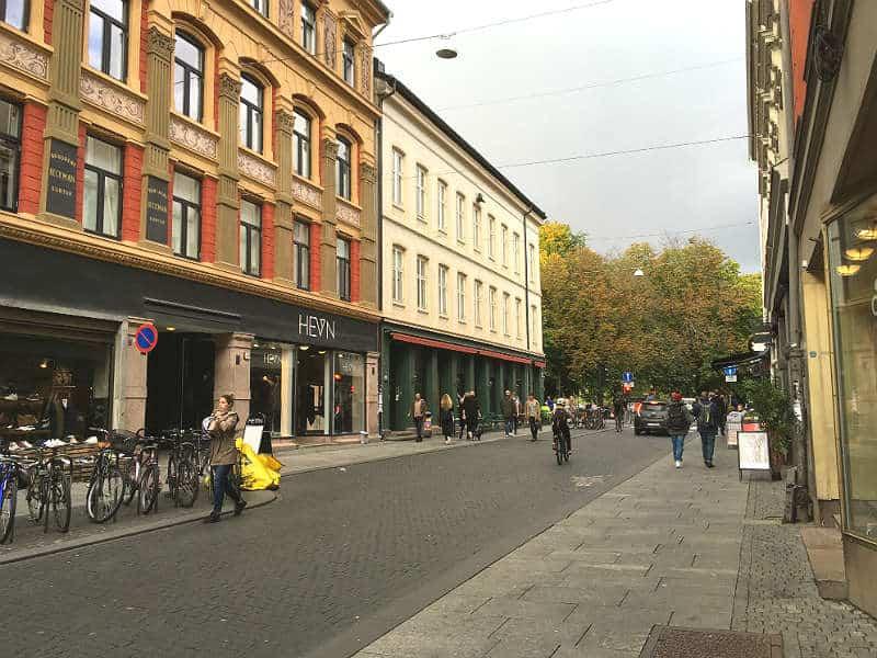 Torggata i Oslo - Globetrotters.dk