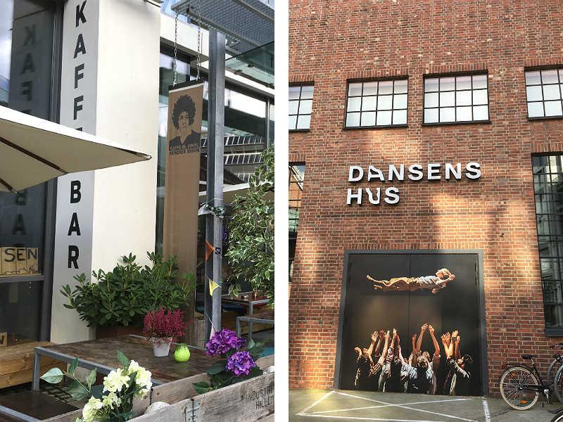 Hendrix Ibsen-kaffebaren og Dansens Hus i Vulkan i Oslo