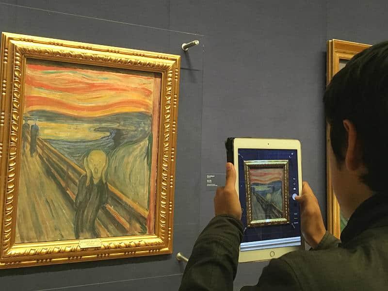 Edvard Munchs maleri Skriget i Oslo - Globetrotters.dk