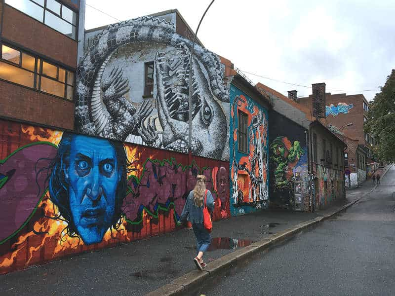 Street art i Oslo - Globetrotters.dk