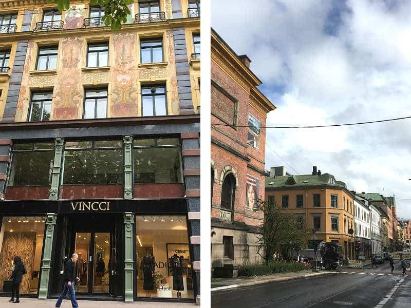 Flotte bygninger i det centrale Oslo - Globetrotters.dk
