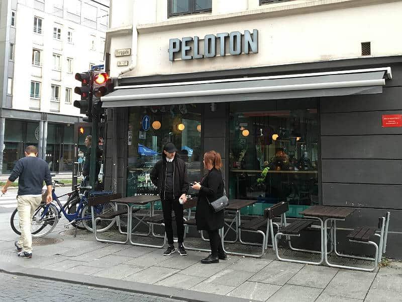 Peloton - en af de sjoveste caféer i Oslo - Globetrotters.dk