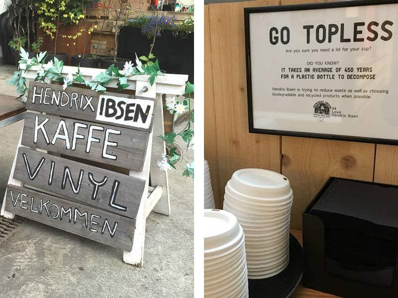 Kaffebaren Hendrix Ibsen i Oslo - Globetrotters.dk