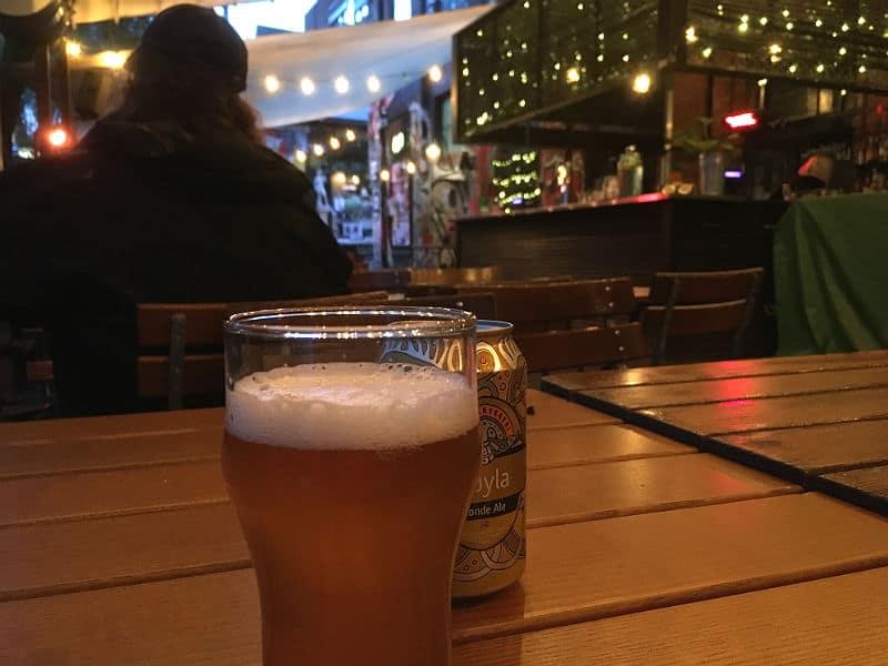 Øl på Blå i Oslo