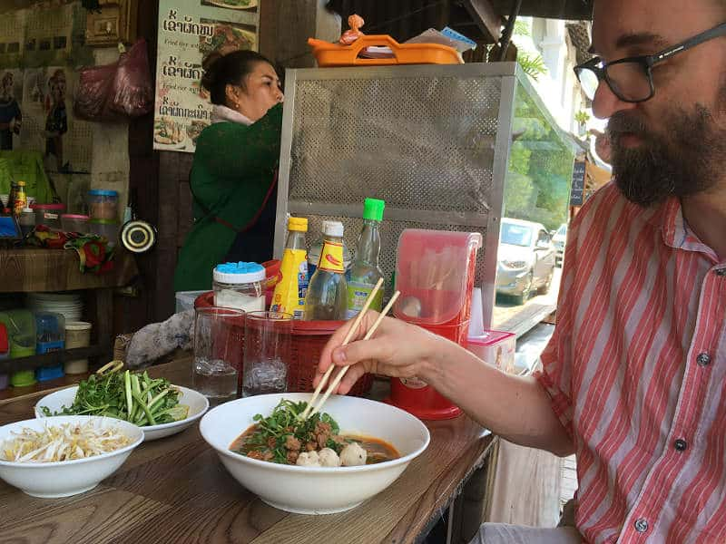 Kenneth spiser Khao Soy - Globetrotters.dk