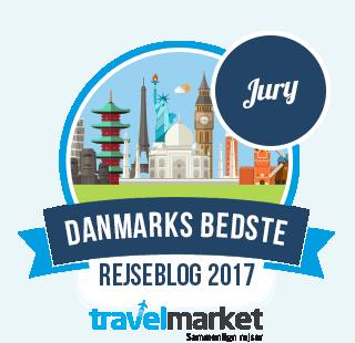 Kenneth er med til at kåre Danmarks bedste rejseblog