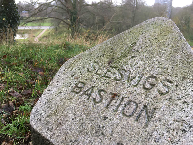 Slesvigs Bastion fra min gåtur i Fredericia