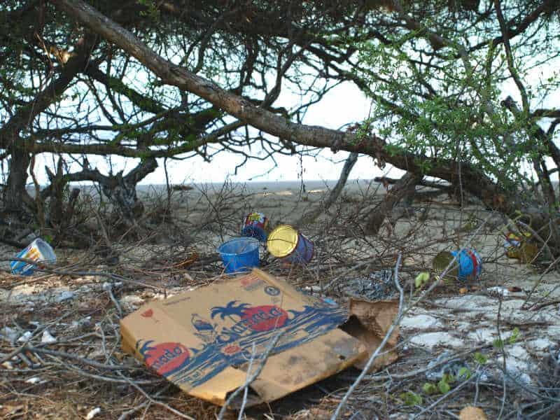 Skrald kan udlede mikroplast