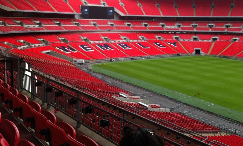 Endelig skal jeg på Wembley i London