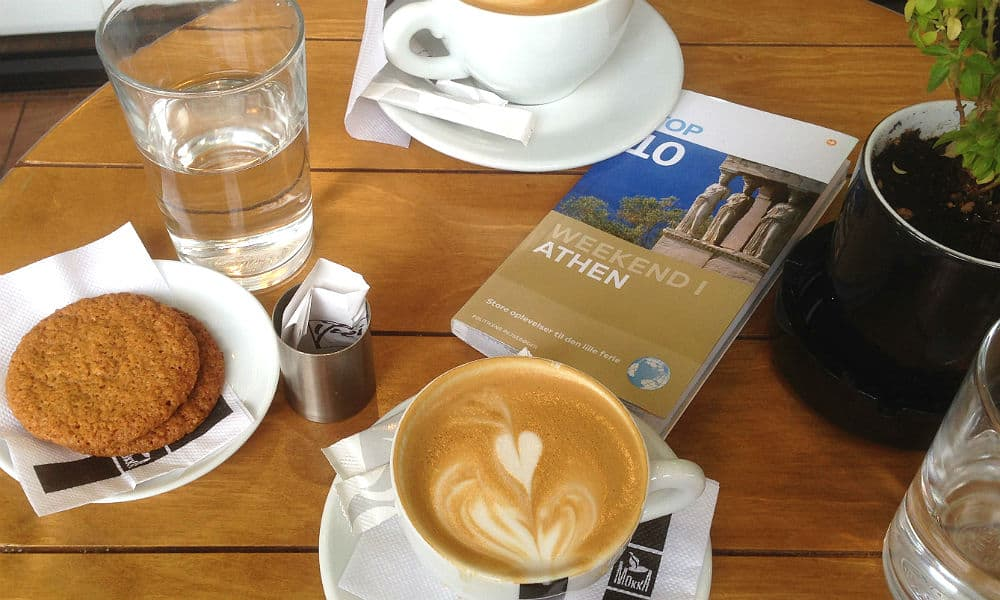 Lækker kaffe i Europa