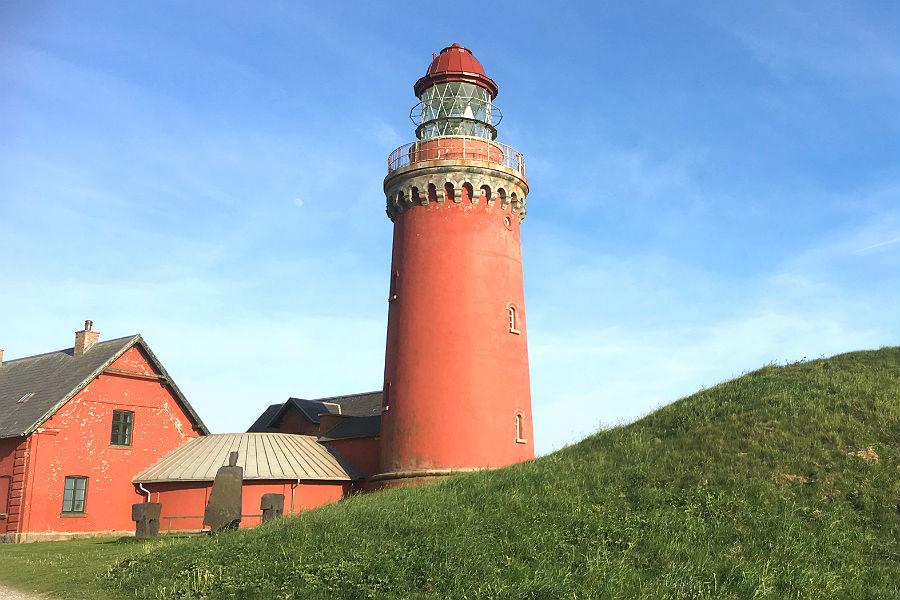 Bovbjerg Fyr i Vestjylland