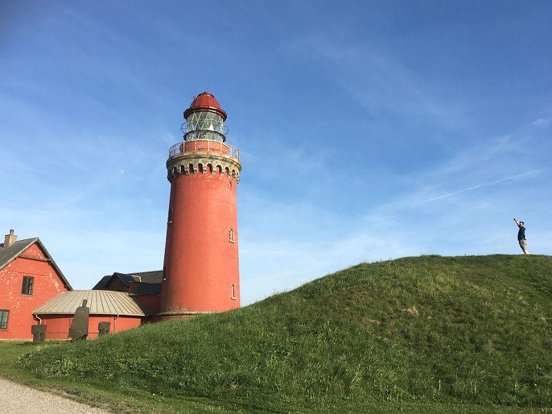 Kenneth Karl Nielsen ved Bovbjerg Fyr i vestjylland