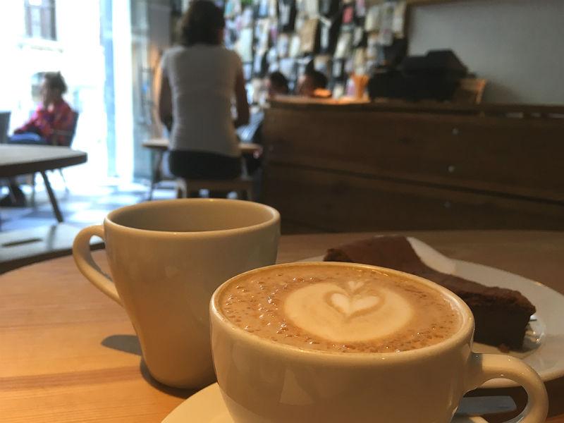 Hip kaffebar i Poznan