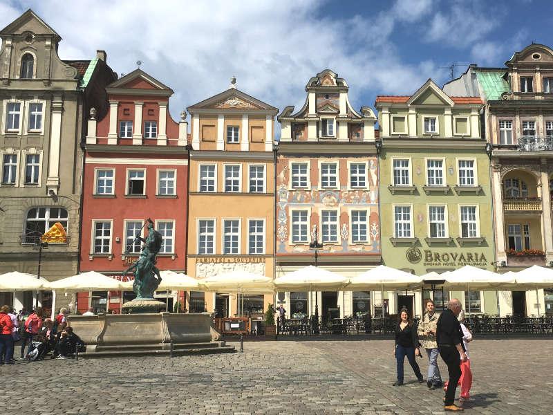 Huse på Stary Rynek
