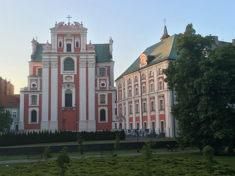 Kirke og kloster i Poznan