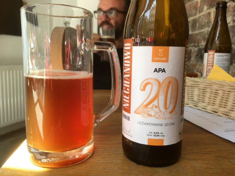 Lokalbrygget øl i Poznan