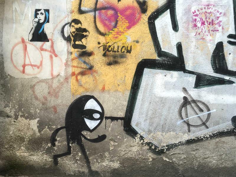 Cool street art med bl.a. Noriaki i Polen
