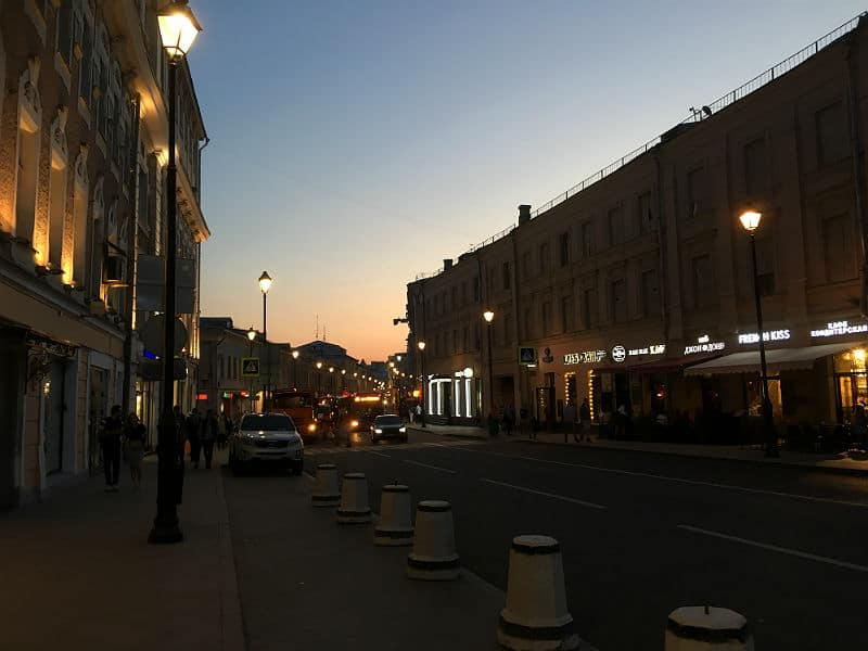 Aften i Moskva