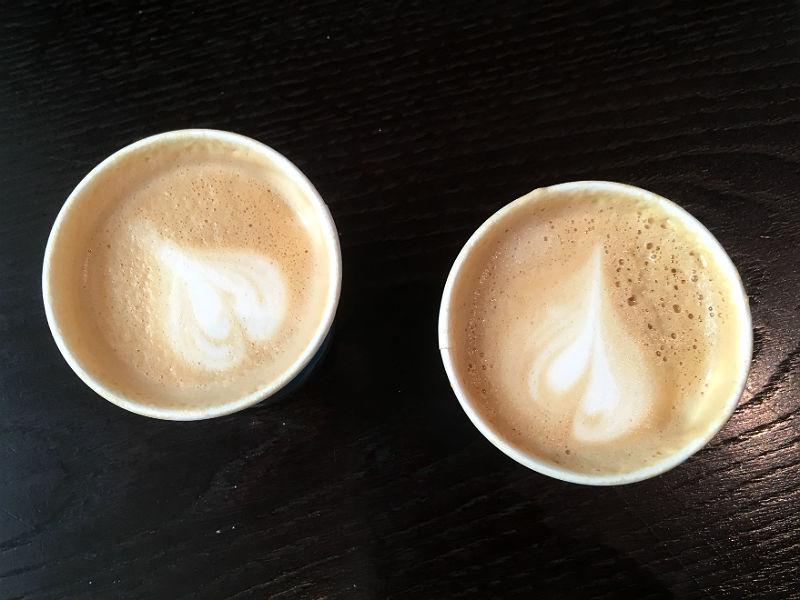 Kaffebaren Jeffrey's Coffee i Moskva