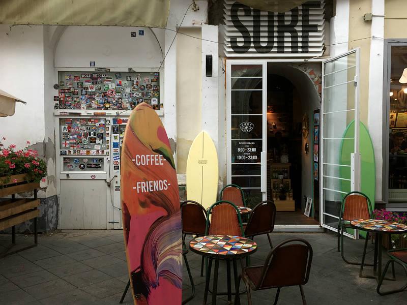 Surf coffee - en fin kaffebar i Moskva