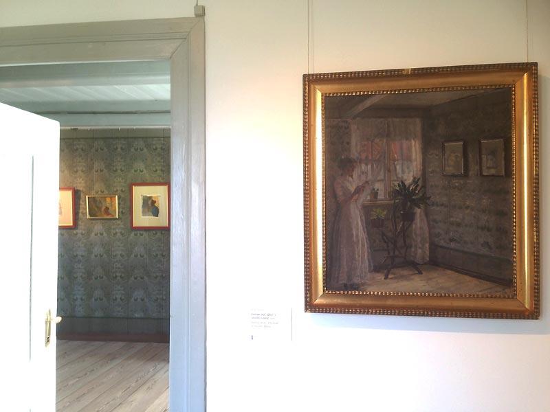 Maleri af Helga Ancher i Skagen