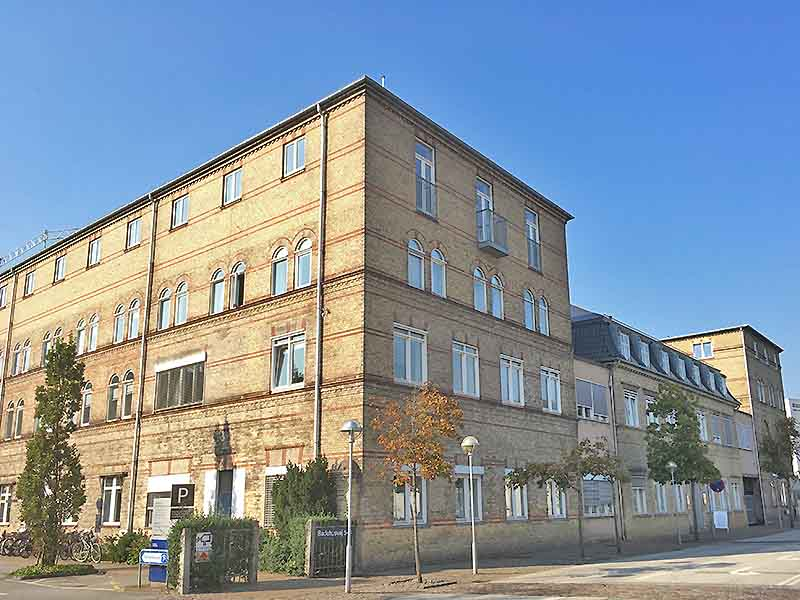 Fabriksbygningen C.W. Obel i Aalborg