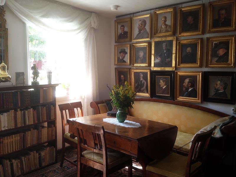 Forstue i Anchers Hus i Skagen