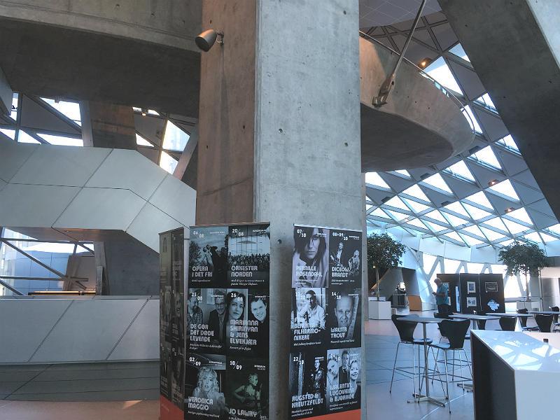 Foyeren i Musikkens Hus i Aalborg