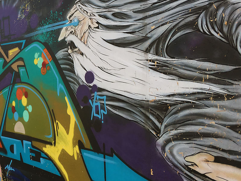 Cool street art i Haderslev
