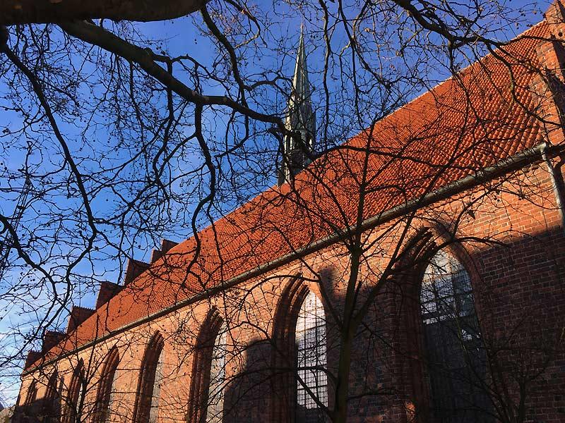 Sct. Mariæ Kirke og karmeliterklosteret i Helsingør