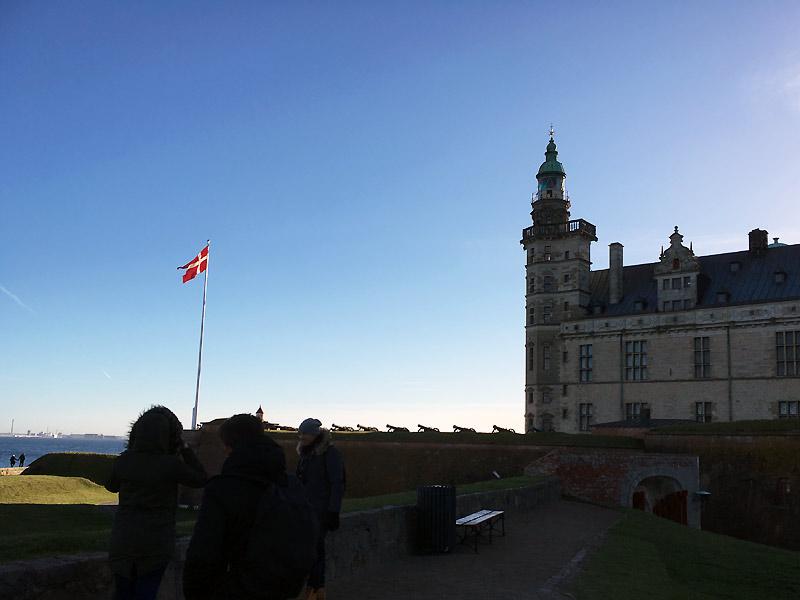 Kronborg Slot i Helsingør